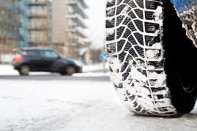 Snow tire, bad road conditions